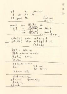 寅彦ローマ字俳句分析1